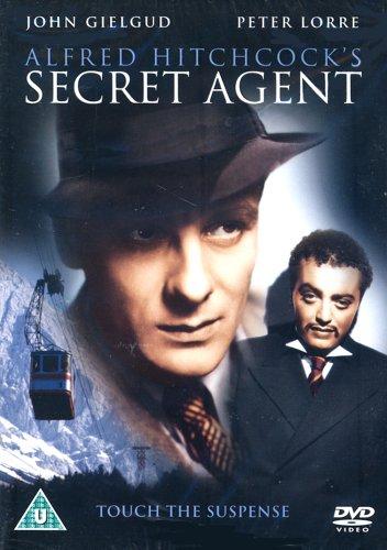 Secret-Agent-1936-DVD-CD-KSVG-FREE-Shipping
