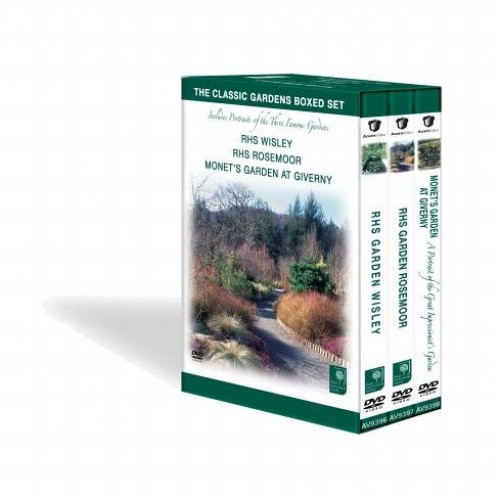 The Classic Gardens Boxed Set - RHS Wisley / RHS Rosemoor / Monet's Garden At Giverny