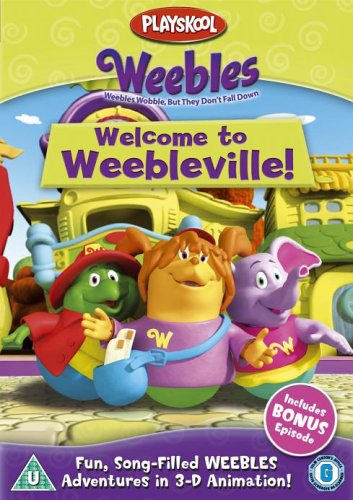 Weebles-Welcome-To-Weebleville-DVD-CD-J0VG-FREE-Shipping