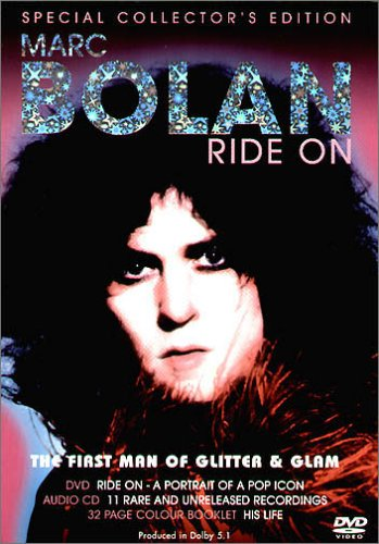 Marc-Bolan-Ride-On-DVD-CD-5IVG-FREE-Shipping