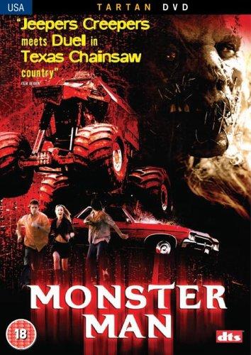 Monster-Man-DVD-CD-LYVG-FREE-Shipping
