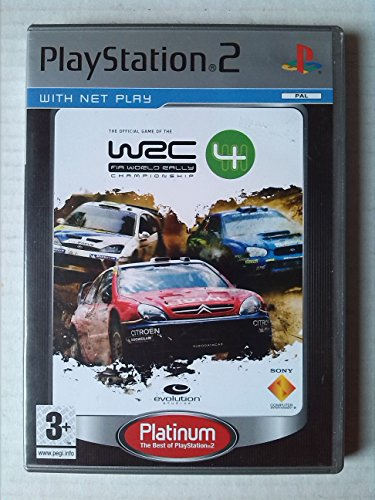 Wrc 04 - WRC 4 - Platinum (PS2)