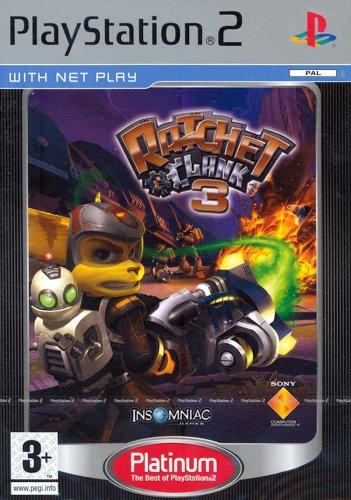 Ratchet & Clank 3: Platinum (PS2)