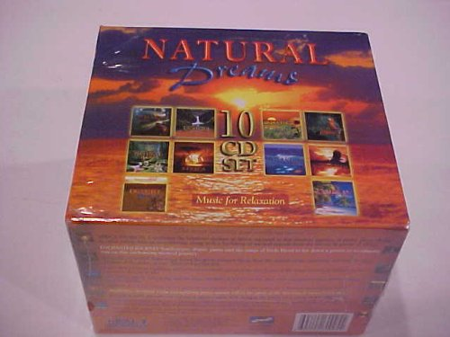 Various Artists Compiled by Hey Presto England - Natural Dreams: Music for Relaxation 10 Cd Box Set By Various Artists Compiled by Hey Presto England