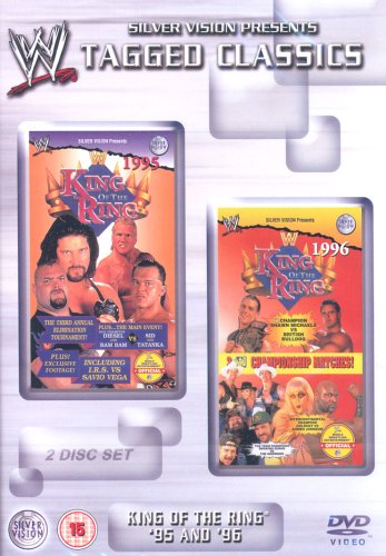 WWE-King-Of-The-Ring-1995-1996-DVD-CD-SUVG-FREE-Shipping