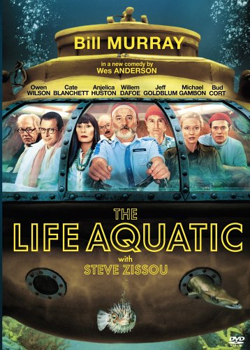 The-Life-Aquatic-With-Steve-Zissou-DVD-CD-PEVG-FREE-Shipping