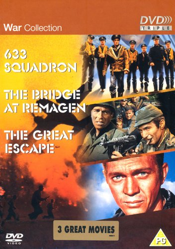 The War Collection - 633 Squadron / The Bridge At Remagen / The Great Escape
