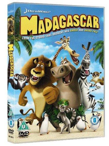 Madagascar-DVD-2005-CD-L0VG-FREE-Shipping