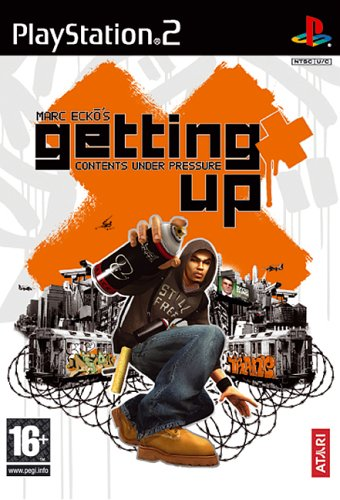 Marc Ecko's Getting Up - Mark Ecko's Getting Up: Contents Under Pressure (PS2)
