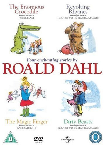 """Four Enchanting Stories By Roald Dahl (""""The Enormous Crocodile"""", """"Revolting Rhymes"""", """"The Magic Fing"""