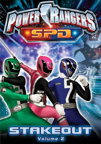 Power Rangers S.P.D., Vol. 2: Stakeout