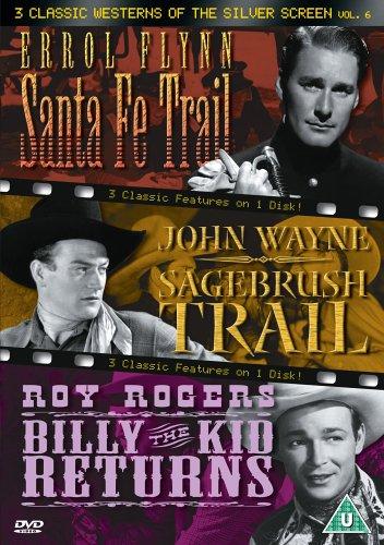 Errol Flynn - 3 Classic Westerns Of The Silver Screen - Vol. 6 (DVD)