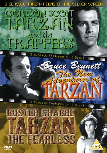 3 Classic Tarzan Films Of The Silver Screen