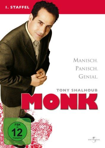 Monk (DVD) Season 1 4DVDs RESTPOSTEN! Min: 540DD2.04:3