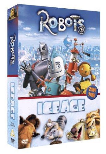 Robots-Ice-Age-2-Disc-Box-Set-2005-DVD-CD-I2VG-FREE-Shipping