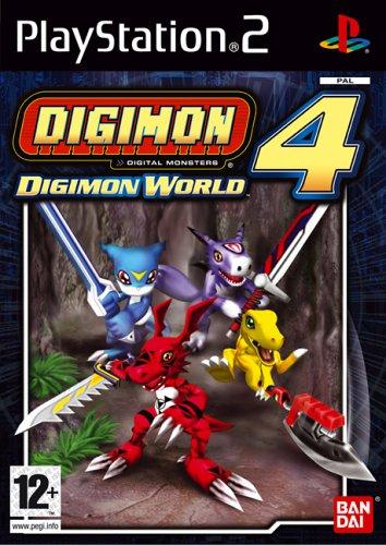 Digimon World 4 (PS2)