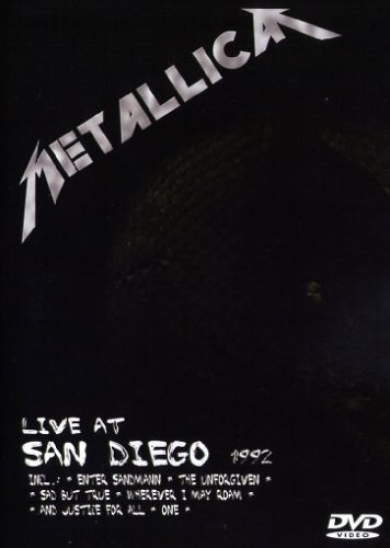 Metallica-Live-in-San-Diego-1992-DVD-CD-OAVG-FREE-Shipping