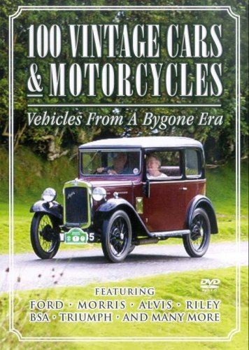 100 Vintage Cars and Motorcycles - 100 Vintage Cars And Motorcycles