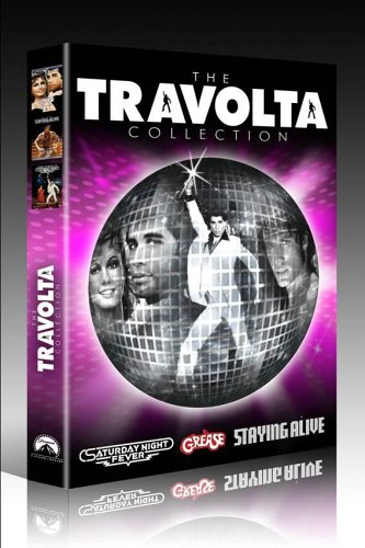 The Travolta Collection : Grease / Saturday Night Fever / Staying Alive (3 Disc Box Set)  [DVD