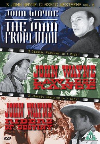 3 John Wayne Classic Westerns Vol. 5 - 3 John Wayne Classics - Vol. 5 - The Man From Utah / Lawless