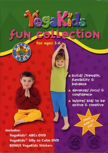 Yoga Kids - Fun Collection for Ages 3-6