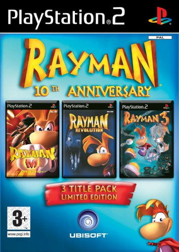 Rayman 10th Anniversary - Rayman 10th Anniversary Compilation Pack (PS2)