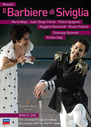 Pietro Spagnoli - Rossini: Il Barbiere Di Siviglia (The Barber of Seville) - Madrid Teatro Real [DVD