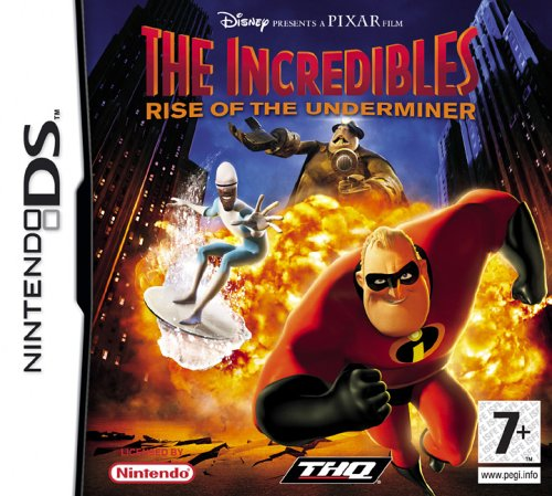 The Incredibles: Rise Of The Underminer (Nintendo DS)