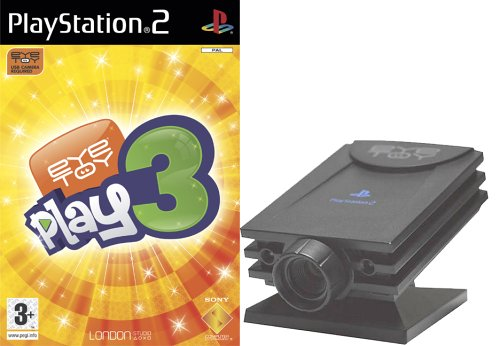 EyeToy Play 3 with Camera (PS2)