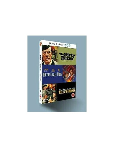 Classic War Film Triple pack : Where Eagles Dare / Kelly's Heroes / Dirty Dozen