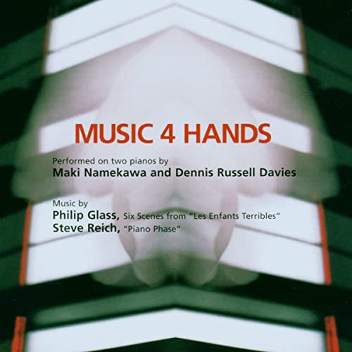 Glass, Philip - Music 4 Hands By Glass, Philip