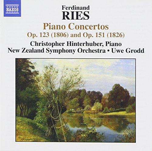New Zealand Symphony Orchestra - Ferdinand Ries: Piano Concertos Op. 123 (1806) & Op. 151 (1826)