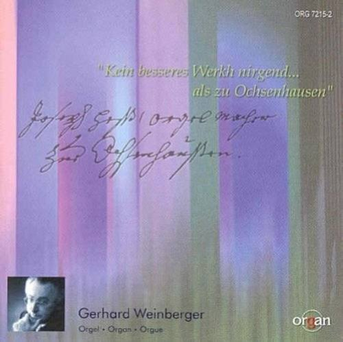 Various Composers - Organ Works From South German Monasteries... (Weinberger)