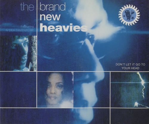 Brand New Heavies - Don't let it go to your head (4 tracks, 1992, incl. 'Keep it coming ')