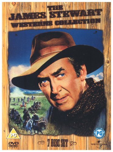 James Stewart Westerns Box Set - The James Stewart Western Collection (7 Disc Set)