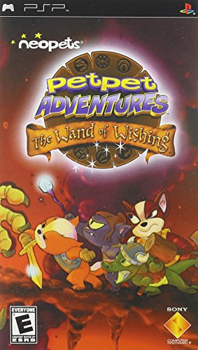 Neopets: Petpet Adventures / Game