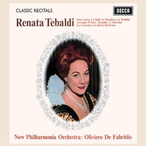 New Philharmonia Orchestra - Renata Tebaldi / Classic Recital