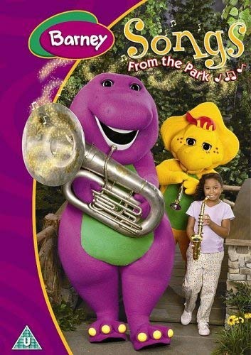 Barney-Songs-from-the-Park-DVD-CD-WAVG-FREE-Shipping