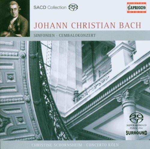 Johann Christian Bach - Symphonies, Overture (Concerto Koln) By Johann Christian Bach