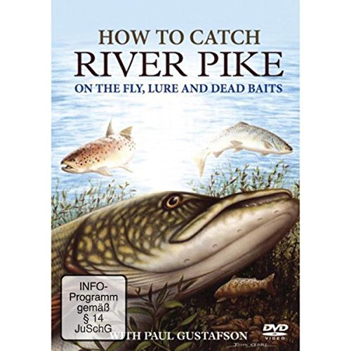 How-To-Catch-River-Pike-DVD-CD-K4VG-FREE-Shipping