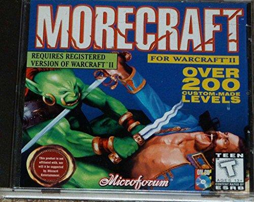 Morecraft for WarCraft 2 Addon: Over 200 Custom Made Levels