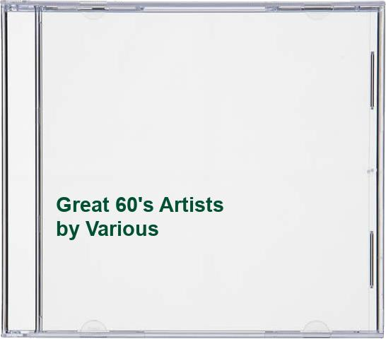 Various - Great 60's Artists By Various