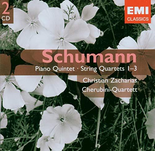 Cherubini-Quartett - Schumann: Piano Quintet - String Quartets 1-3 By Cherubini-Quartett