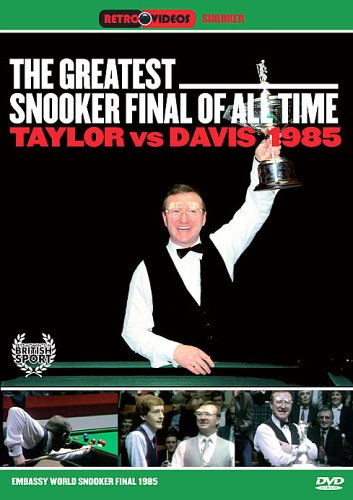 """The Greatest Snooker Final of All Time - """"Greatest Snooker Final Of All Time, The (DVD)  """""""