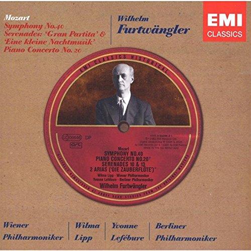 Symphony No. 40/Serenades Nos. 10, 13 (Furtwangler) By Wolfgang Amadeus Mozart