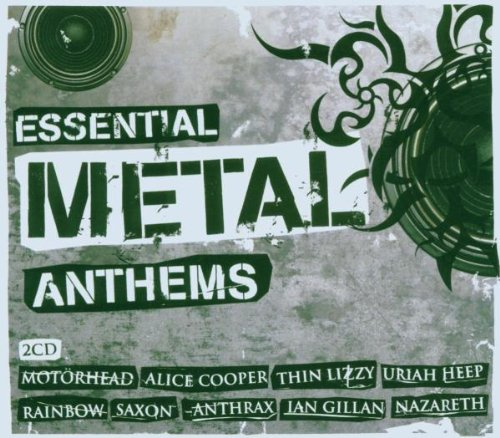 Various Artists - Essential Metal Anthems By Various Artists
