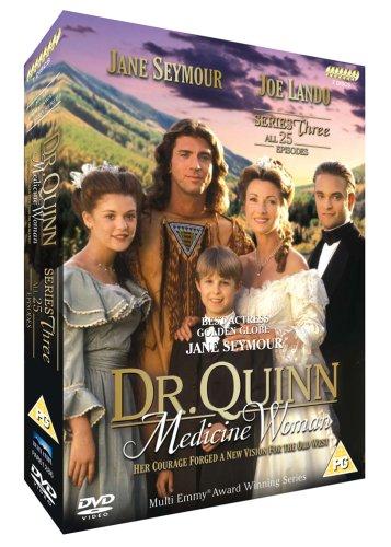 Dr-Quinn-Medicine-Woman-Series-3-DVD-CD-BEVG-FREE-Shipping