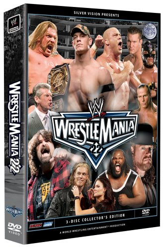 WWE Wrestlemania XXII (3 Disc Box Set)