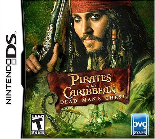 Nintendo Ds - Pirates of the Caribbean: Dead Man's Chest / Game