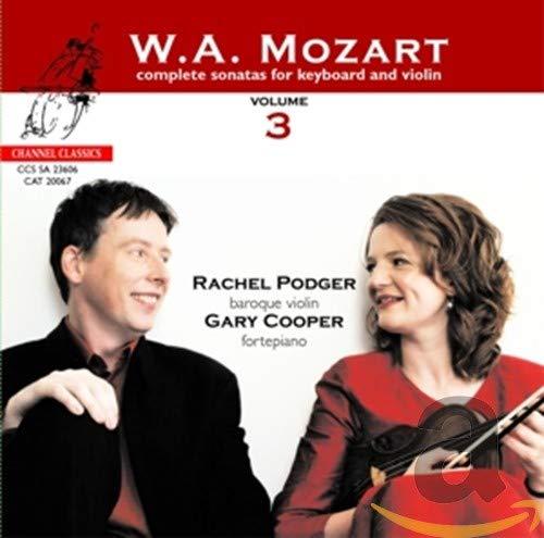 Rachel Podger & Gary Cooper - Mozart - Complete Sonatas for Keyboard & Violin, Vol 3 [Plus Catalogue